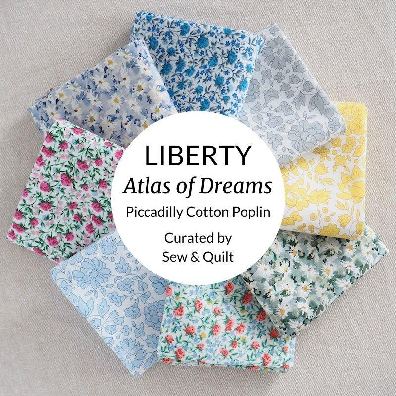 Liberty Atlas of Dreams Piccadilly Cotton Poplin Bundle