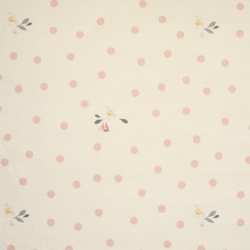Rose & Violets Garden Dots Cream | C10415-CREA