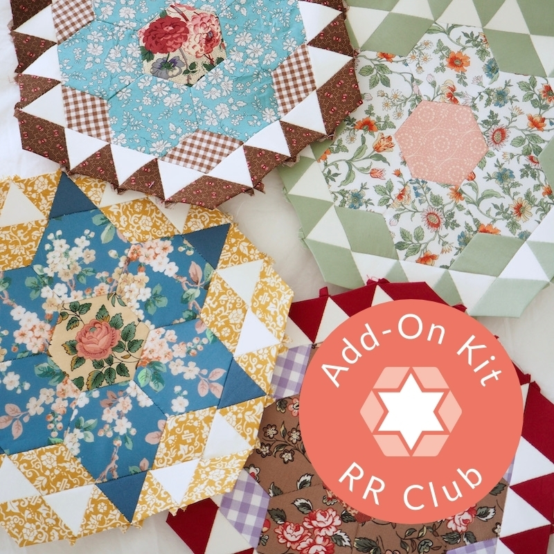 Rosette Rings English paper piecing club Add On Kit