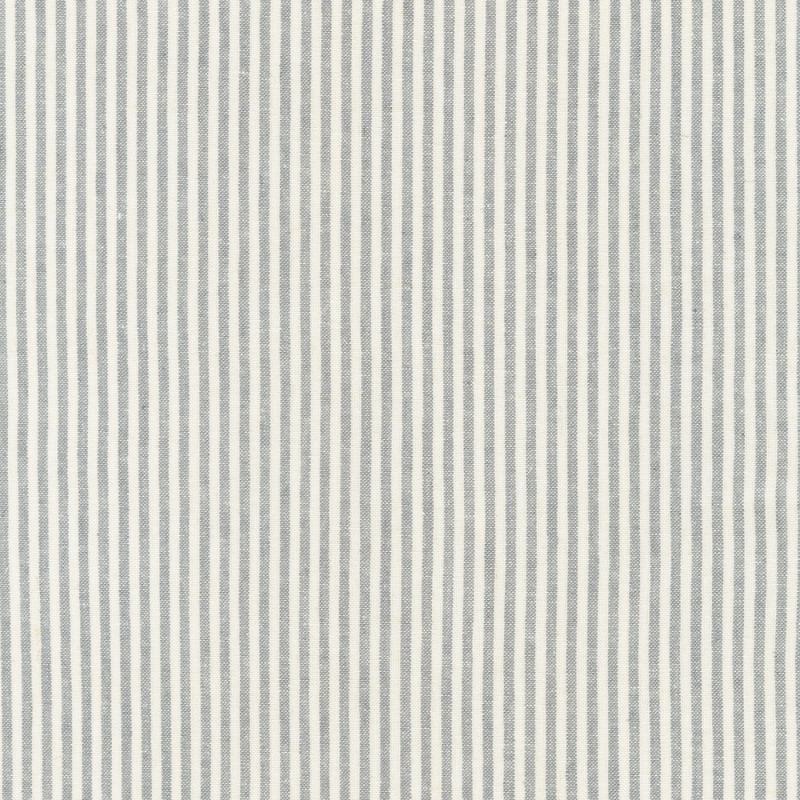 Essex Linen Yarn Dyed Classic Wovens Stripe Grey   17587-185