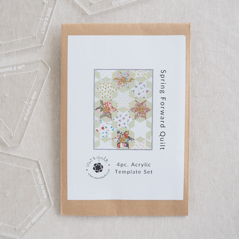 Spring Forward Quilt Acrylic Template Set