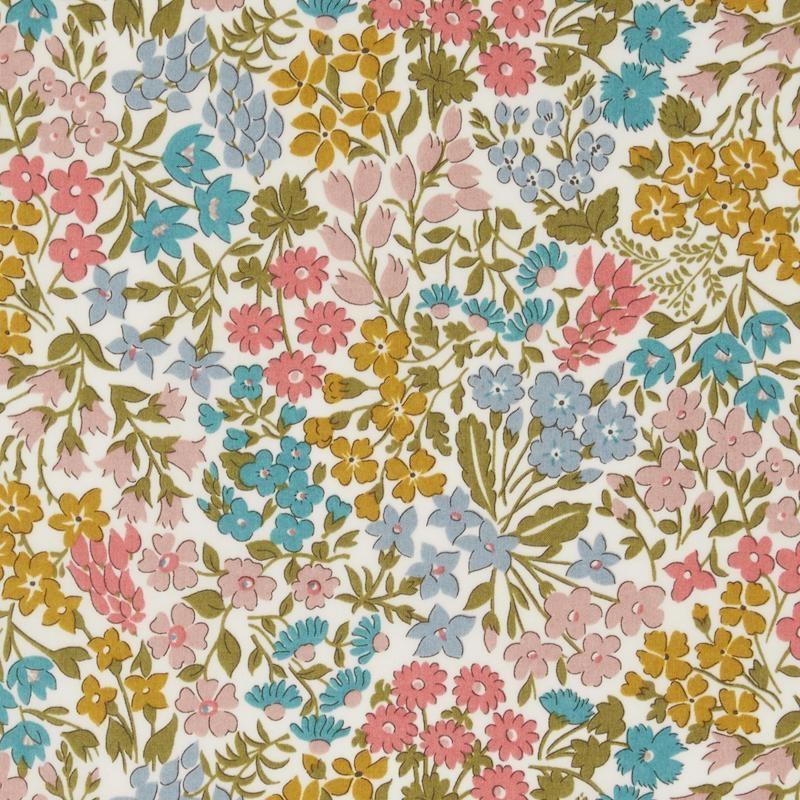Sweet-May-Yellow-Liberty-Tana-Lawn-Cotton-fabric