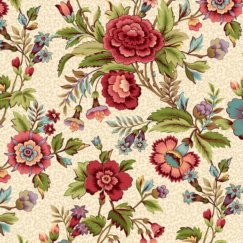 Tarrytown Cream Floral | 2597-33