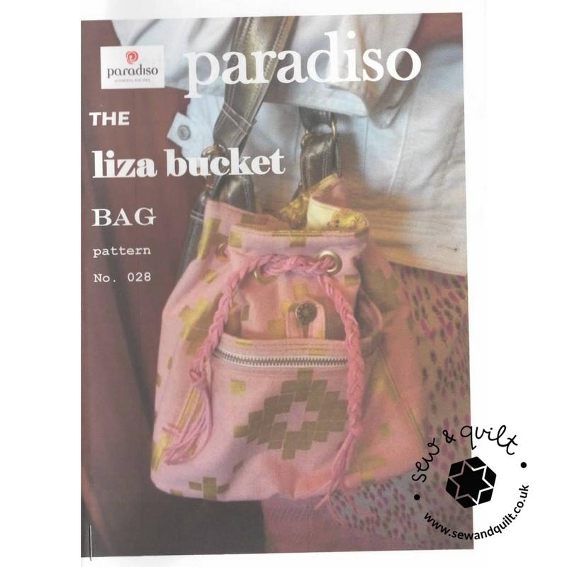 The Liza Bucket Bag by Paradiso