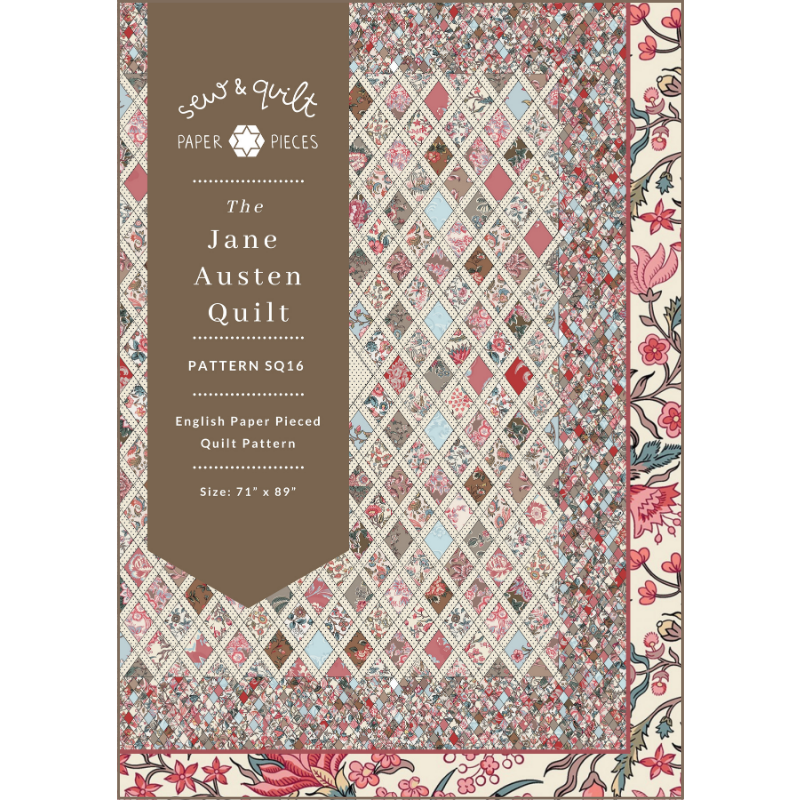 The Jane Austen English Paper Piecing Quilt Pattern