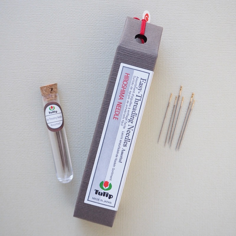 Tulip Hiroshima easy threading needles with big eye