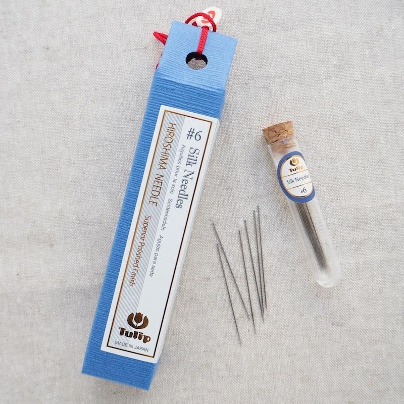 Tulip Hiroshima sewing needles for silk size 6