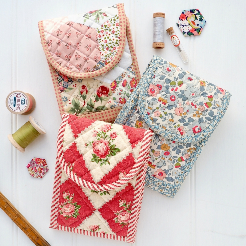 Handy Huswif sewing kit by Jessie Fincham for Sew & Quilt