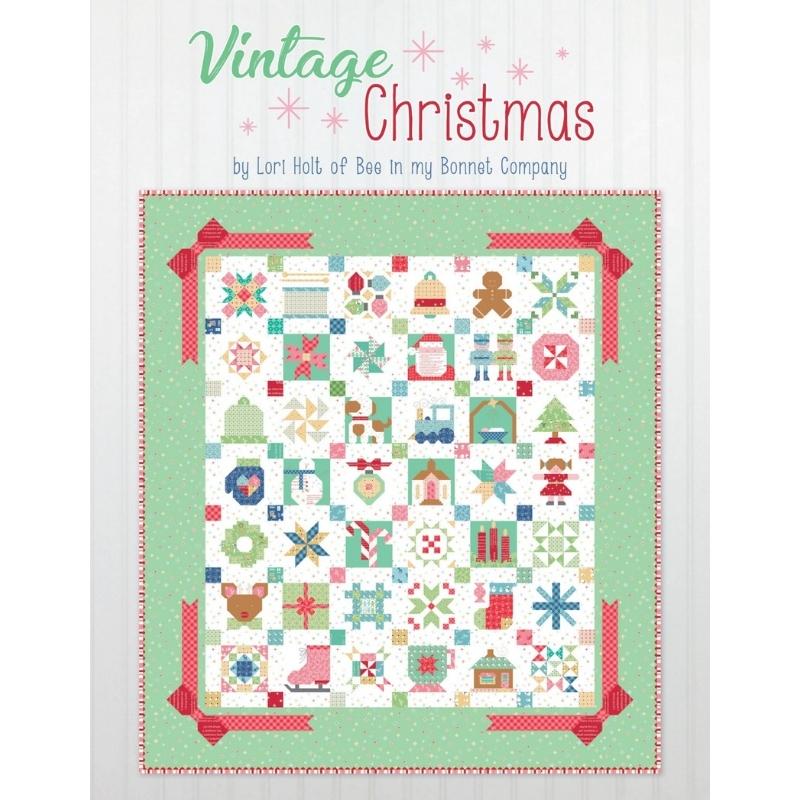 Vintage-Christmas-Bee-Lori-Holt-book-UK
