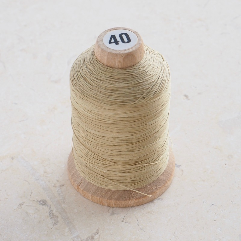 YLI Hand Quilting Thread, Ecru Cone