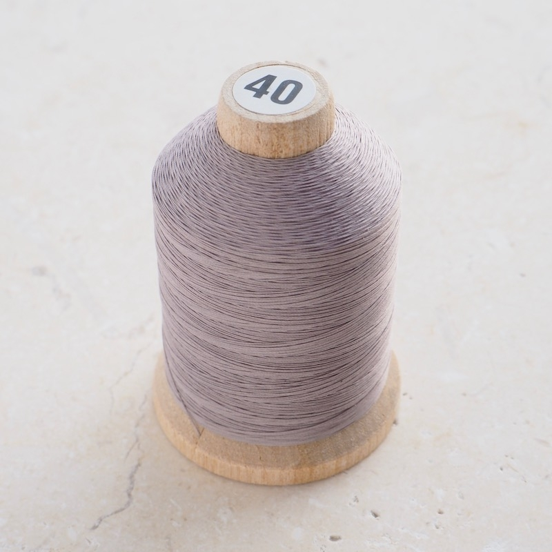 YLI Hand Quilting Thread, Grey Cone