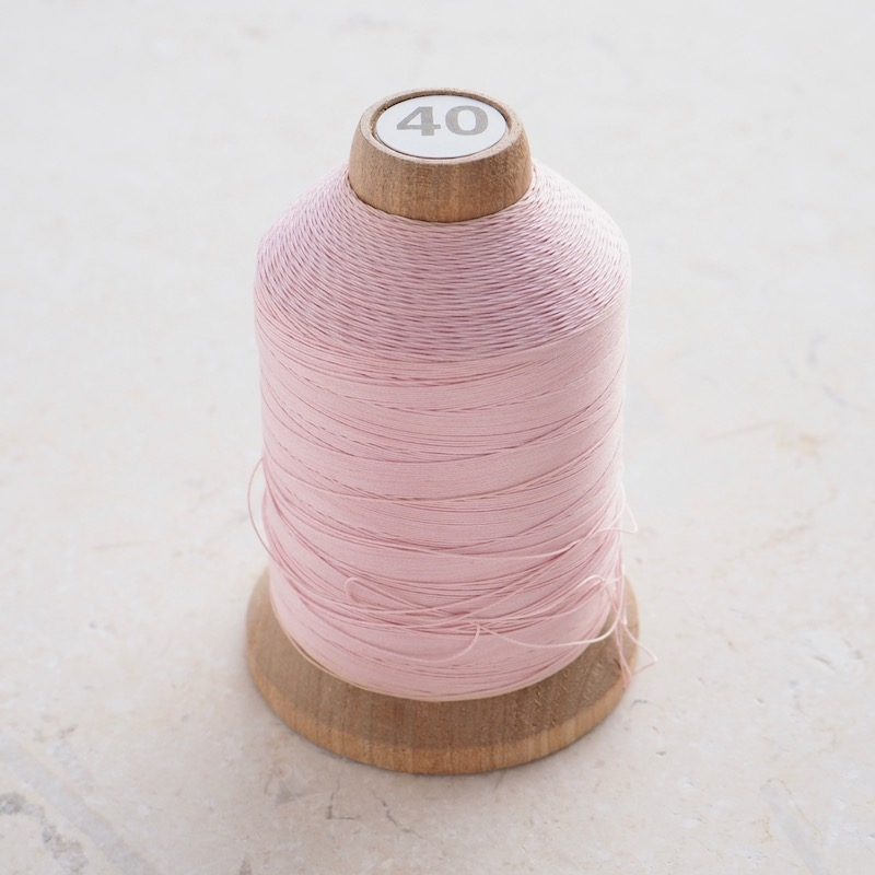 YLI Hand Quilting Thread, Light Pink Cone