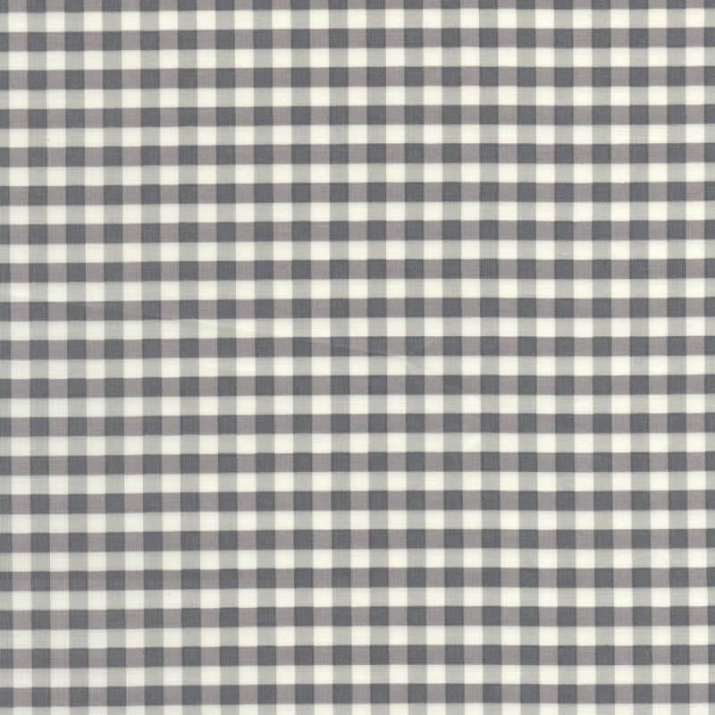 Yuwa-Fabric-Gingham-Grey