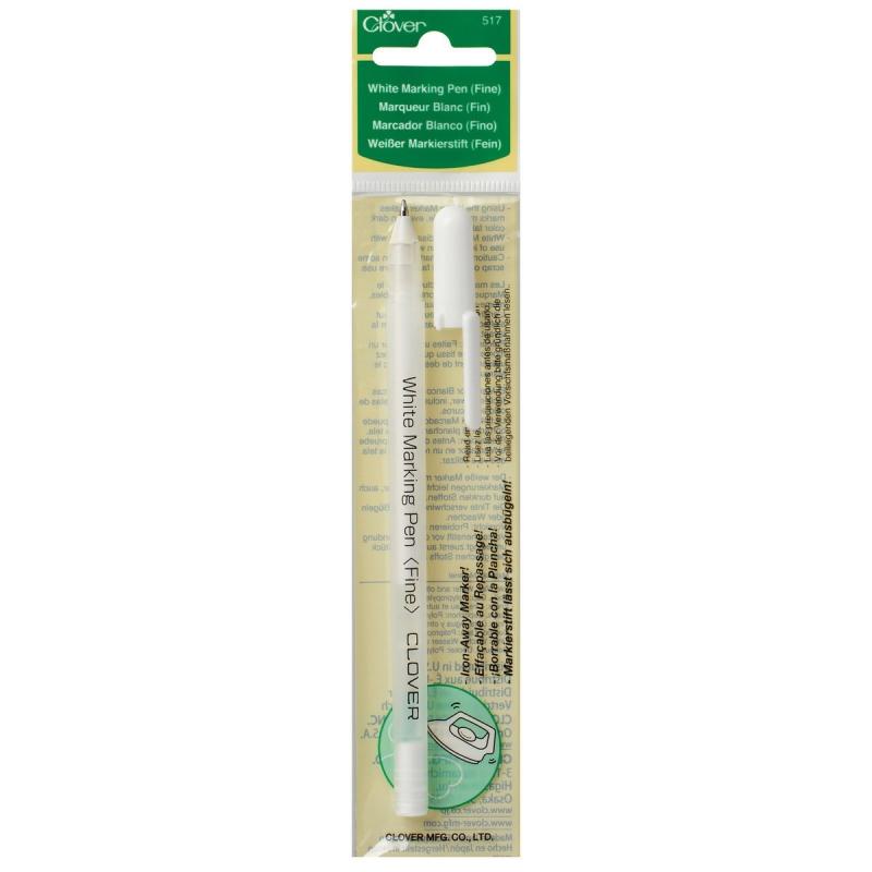 clover-white-marking-pen